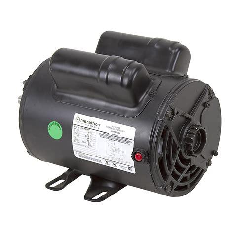 2 hp 120 volt ac 3450 rpm marathon compressor motor air compressor motors air compressors
