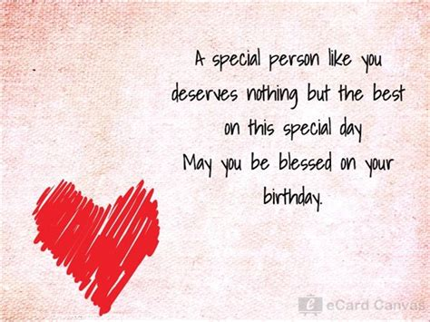 Birthday Card For A Special Person A Special Person Like You Ecard Birthday Ecards