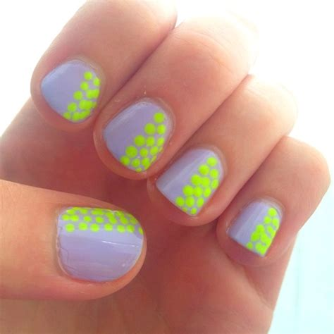 Neon Nail by Cool Trendy Neon Nail Designs 2014 Beststylo