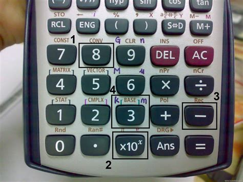 Calculator X10 3 | casio fx 570es scientific calculator tweak bust a tech