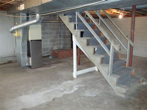 unfinished basement pictures