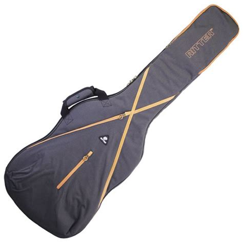 Tass Bass Gigbag Coclat I ritter rgs7 bass guitar gig bag grey leather brown colour ritter from sound affects uk