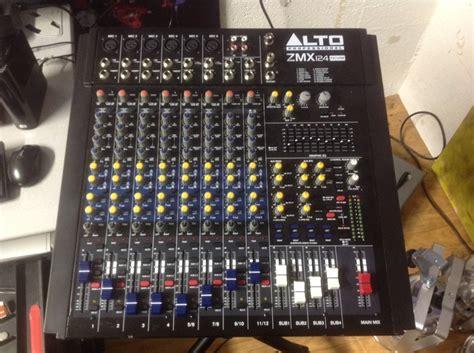 Mixer Alto Zmx 124 Alto Professional Zmx124fxu Image 1430102 Audiofanzine