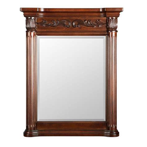 Belle Foret Estates 28 in. W x 34 in. L Wall Mirror in