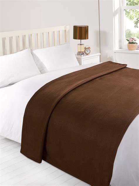 throw blanket on bed dreamscene warm soft plain fleece throw large