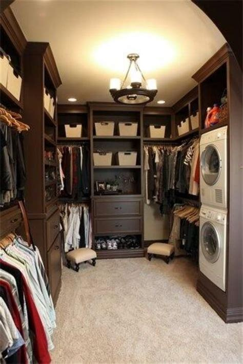 Laundry In Closet by Doing Laundry In The Closet Awesome For The Home
