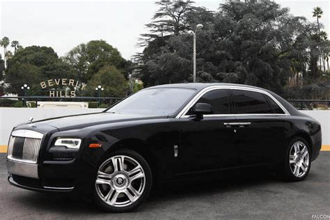 roll royce rent rolls royce ghost series ii black rental los angeles