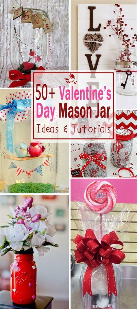 Flower Lights In Vase 50 Valentine S Day Mason Jar Ideas Amp Tutorials Noted List