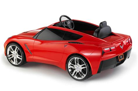 power wheels power wheels builds a c7 corvette for the kids autoblog