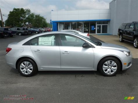 Silver And Black Ls by 2012 Chevrolet Cruze Ls In Silver Metallic Photo 8