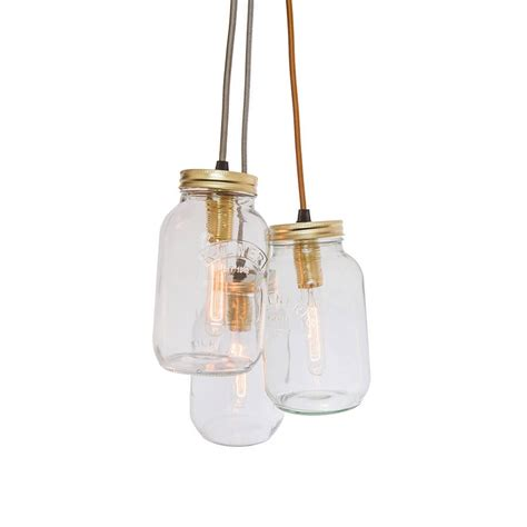 Jar Pendant Lighting Jam Jar Hanging Lights Roselawnlutheran