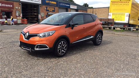 renault orange renault captur dynamique s nav dci orange black 2017