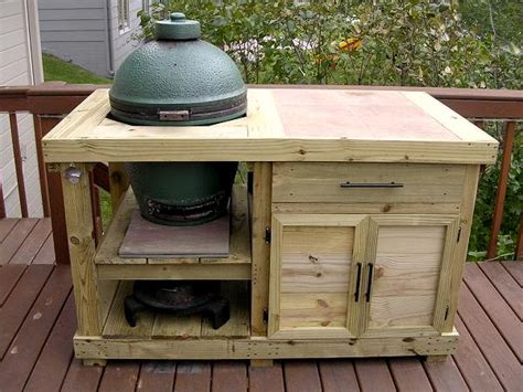 big green egg table plans green egg grill table plans sepala