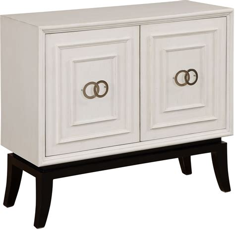 White 2 Door Cabinet Astor White 2 Door Cabinet From Coast To Coast Coleman Furniture