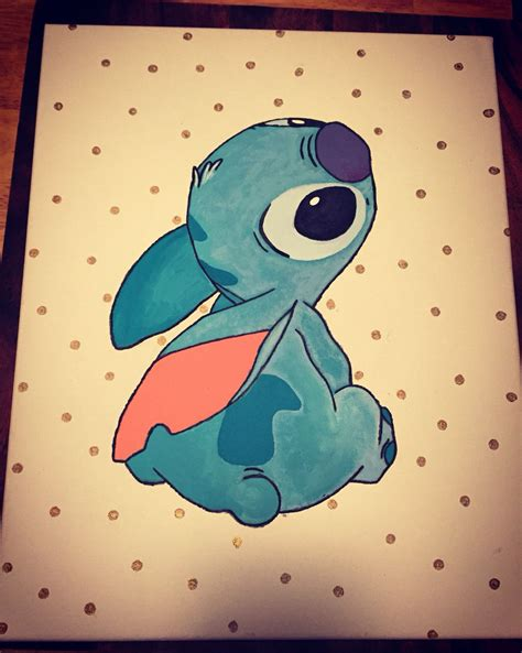 stitches painting disney s lilo and stitch painted 16x20 canvas i made