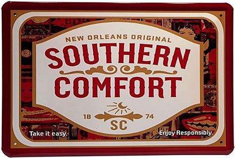 Southern Comfort Classification by Southern Comfort Metal Sign Jk 3020