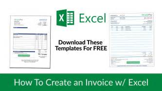 Create Invoice Template by How To Create An Invoice In Excel Free Invoice Template