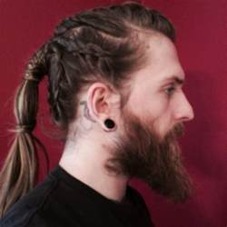 vikings hairstyles braids for men simple and creative looks