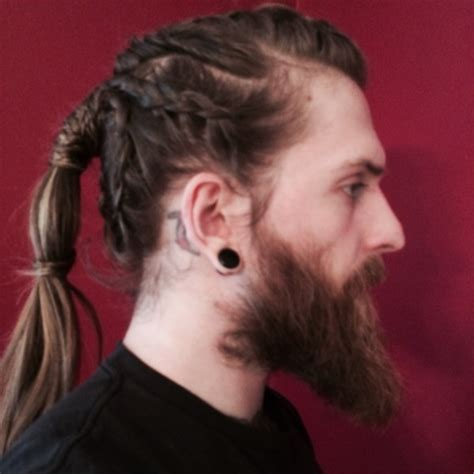 what is a viking haircut viking braids hairstyles long hairstyles for men