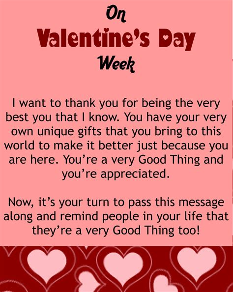 valentines day messages for friends my s day message for you things going around