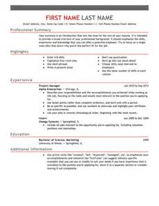 how to build a perfect resume - Build The Perfect Resume
