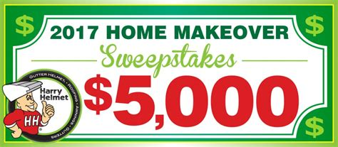 Home Makeover Sweepstakes - harry helmet home makeover sweepstakes