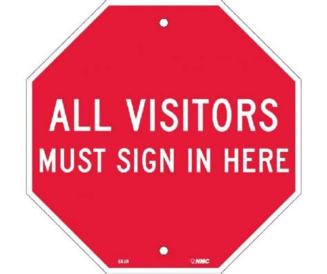 all visitors must sign in template gallery templates
