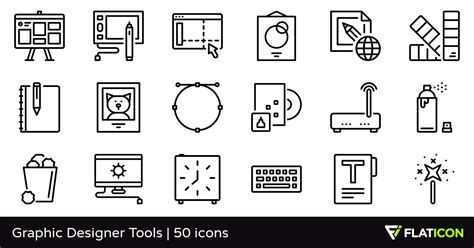 icon design tool mac graphic designer tools 50 free icons svg eps psd png