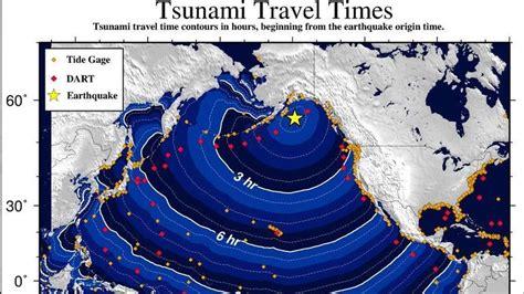 recap tsunami fears ease  huge  quake