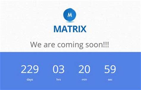 coming soon html5 template free blue bootstrap coming soon free web template webthemez