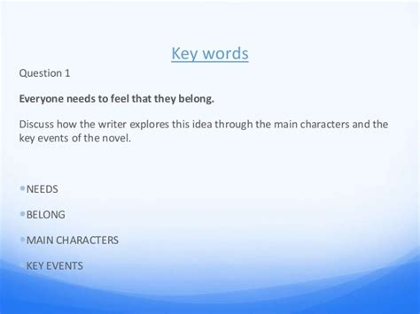 key themes of the outsiders the outsiders essay power point cm