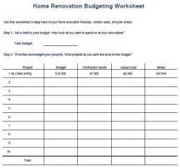 Home Design Worksheet Home Financial Planning Worksheet Home Design And Style