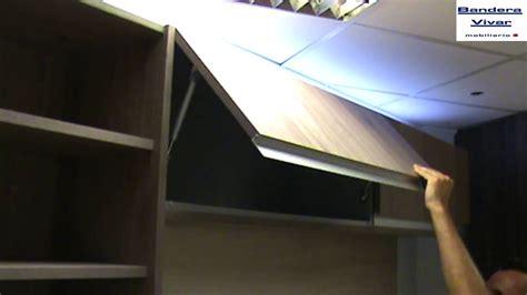 tipos de aperturas de muebles altos en cocinas por bisagra