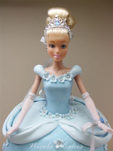 Bp1136princess Cinderella precious cinderella doll cake doll cakes