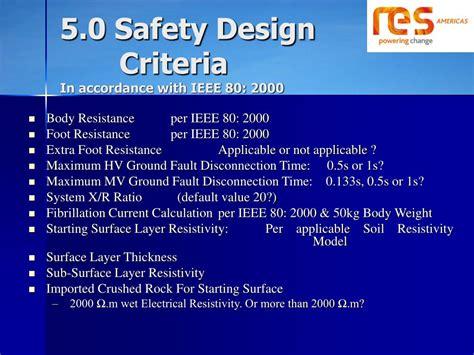 design criteria and safety ppt ieee wind farm collector system grounding for