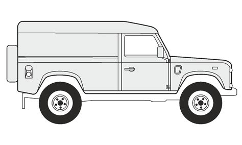 land rover drawing how to draw a land rover defender 110 как нарисовать