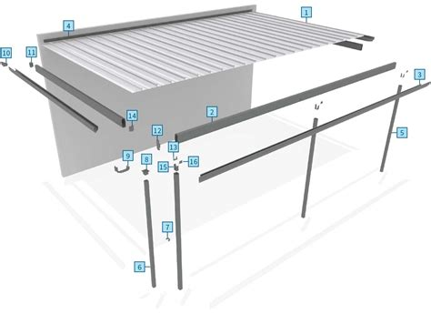 Two Car Carport Plans Outback 174 Flat Stratco