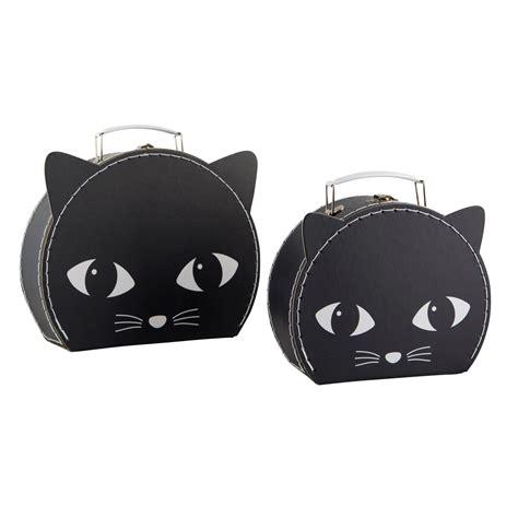 Set Black Cat Hdm set of 2 black cat suitcases