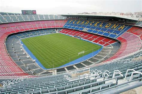 barcelona football c nou stadium