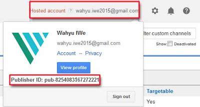 adsense pub id reverse lookup cara daftar safelink converter step by step wahyu iwe