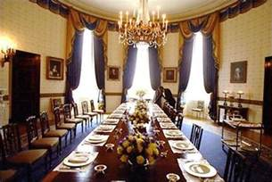 white house dining room blue room white house museum