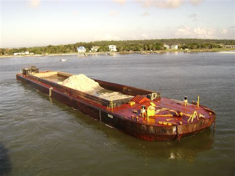 ocean scow equipment from norfolk dredging company