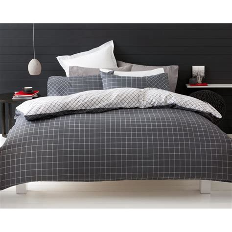 Kmart Bedding Set Trent Quilt Cover Set Single Bed Kmart