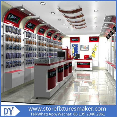 mobile phone shop interior designcell phone showcase