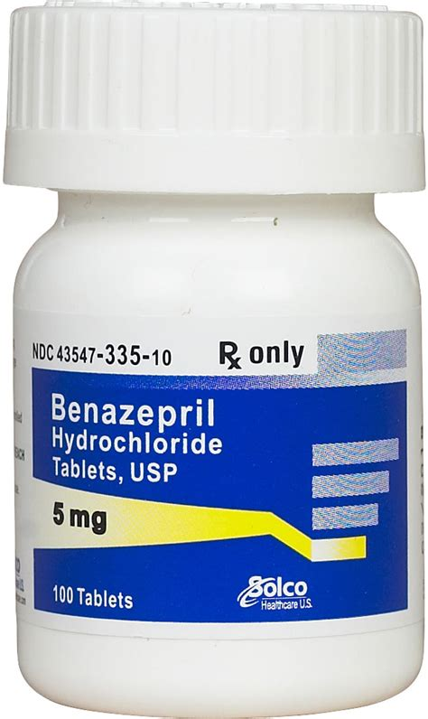 benazepril for dogs cats generic brand may vary safe