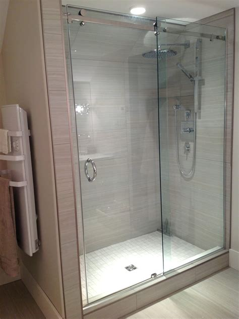 Sliding Door For Shower Sliding Shower Door System Pars Glass