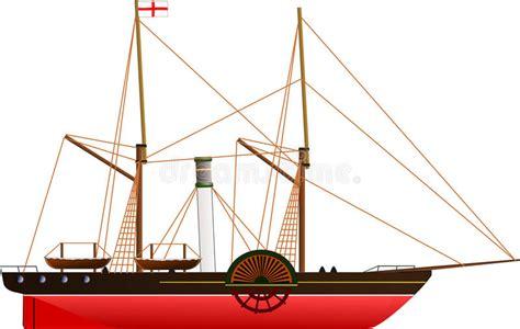 barco de vapor sirius navio a vapor de sirius ilustra 231 227 o do vetor imagem 84686151