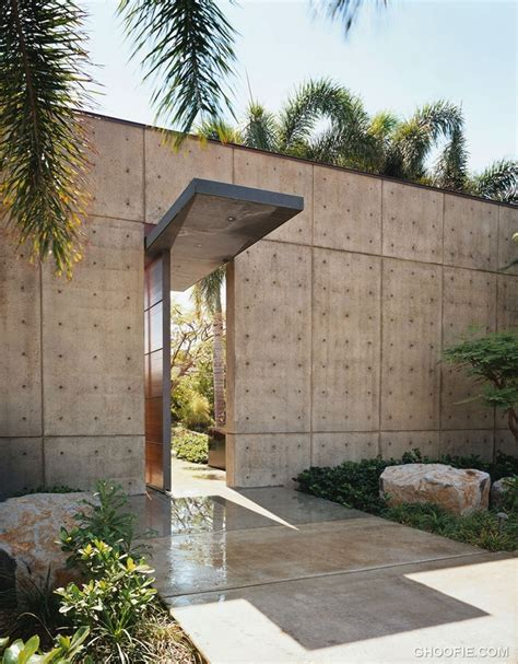 Modern Concrete Homes Home Garden 40 Modern Entrances Designed To Impress Architecture Beast