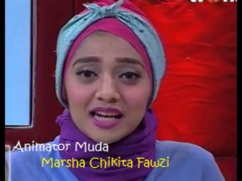 film malaysia hati malaya hebatnya marsha chikita fawzi animator muda pada film