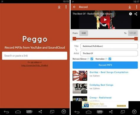 application download mp3 youtube android peggo app download youtube to mp3 converter android